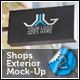 Shops Exterior Mock-Up Pack 2 - GraphicRiver Item for Sale