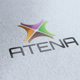 Atena Logo - GraphicRiver Item for Sale