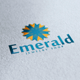 Emerald Logo - GraphicRiver Item for Sale