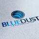 Blue Dust Logo - GraphicRiver Item for Sale