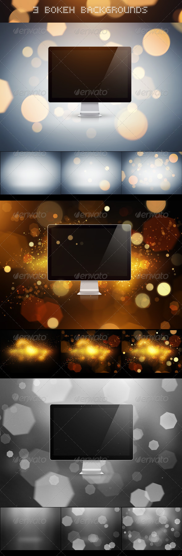 GraphicRiver 3 Bokeh Backgrounds 2628432