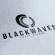 Black Waves Logo - GraphicRiver Item for Sale