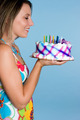 Birthday Cake Woman - PhotoDune Item for Sale