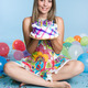 Birthday Cake Girl - PhotoDune Item for Sale