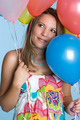 Balloons Girl - PhotoDune Item for Sale