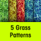Seamless Grass Pattern - GraphicRiver Item for Sale