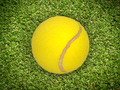 Tennis Ball on Court - PhotoDune Item for Sale
