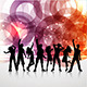 Download Vector Party People Background