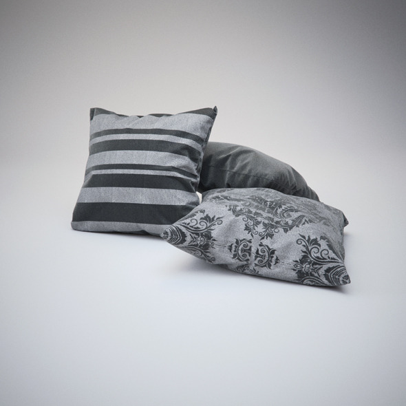 Photorealistics Pillows - 3DOcean Item for Sale