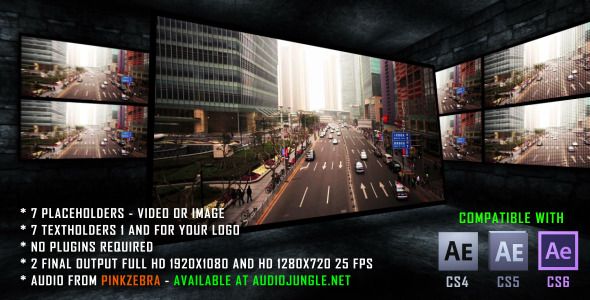 After Effects Project - VideoHive The Dark Room 2630592