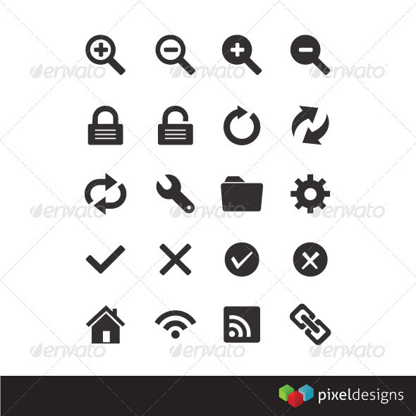 20 Browser Icons - Web Icons
