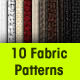 10 Seamless Fabric Patterns - GraphicRiver Item for Sale