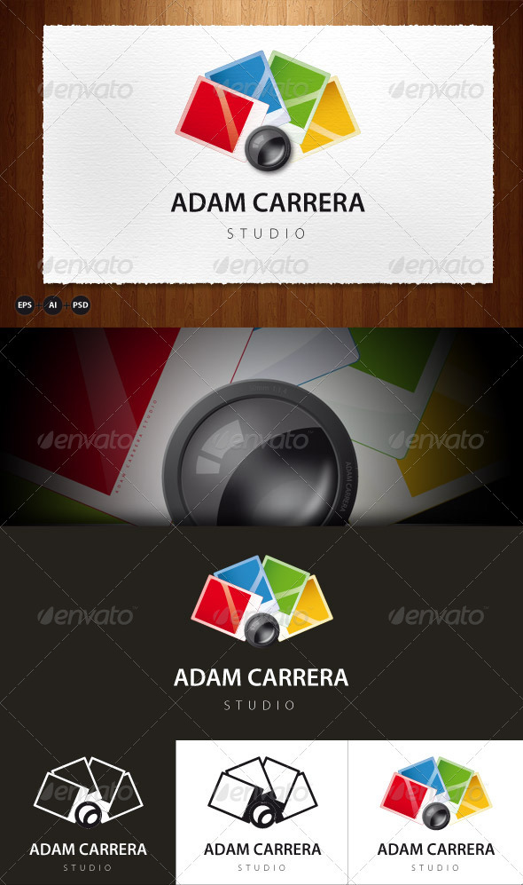 Adam Carrera Studio - Objects Logo Templates