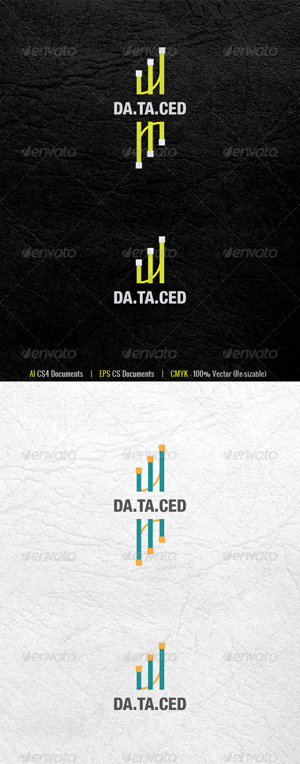 DataCed Logo Template - Abstract Logo Templates