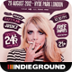Indie Flyer/Poster Vol. 16 - GraphicRiver Item for Sale