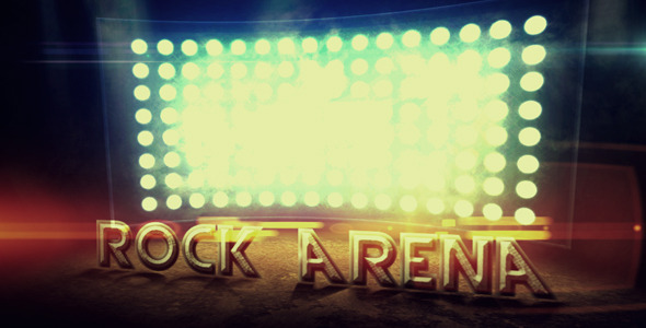 After Effects Project - VideoHive Rock Arena 2632461