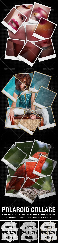 GraphicRiver Polaroid Collage Photo Template 2627722