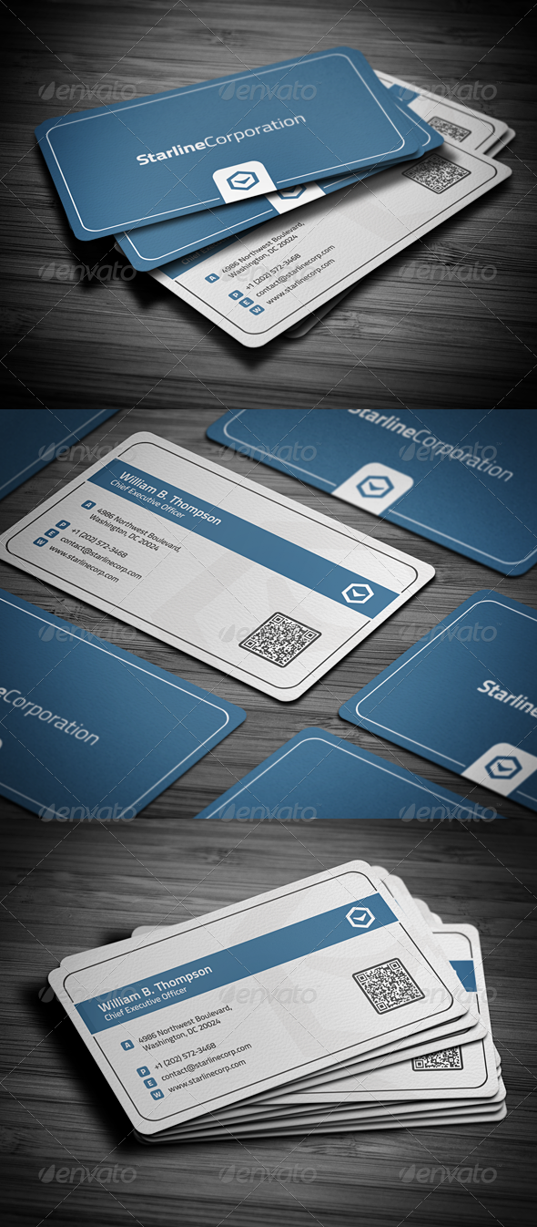 Smart Corporate Business Card - Corporate Business Cards
