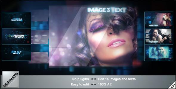 VideoHive Blue Dna Slideshow 2633130