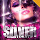 Silver Night Party Flyer - GraphicRiver Item for Sale