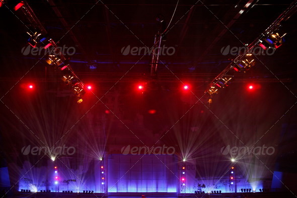 PhotoDune Stage lights 2634328