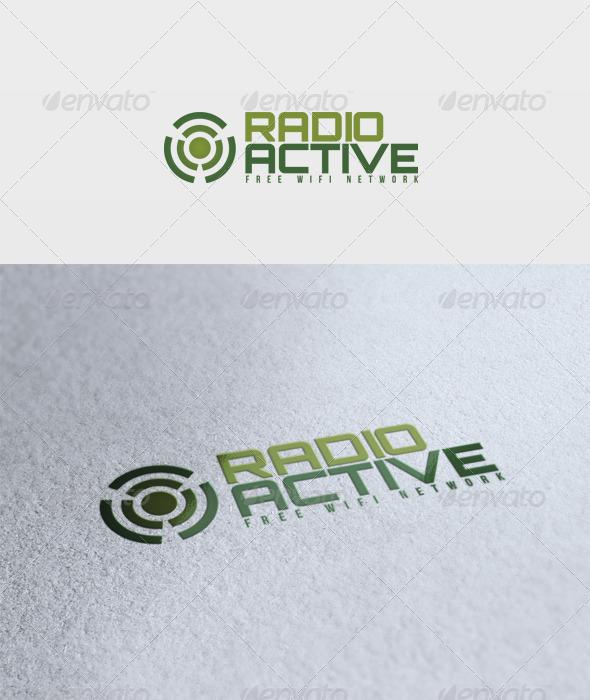 Radioactive Logo