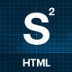 Stereo Squared - Responsive HTML template - ThemeForest Item for Sale