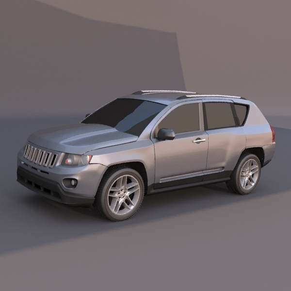 3DOcean Jeep Compass SUV vehicle 2634850