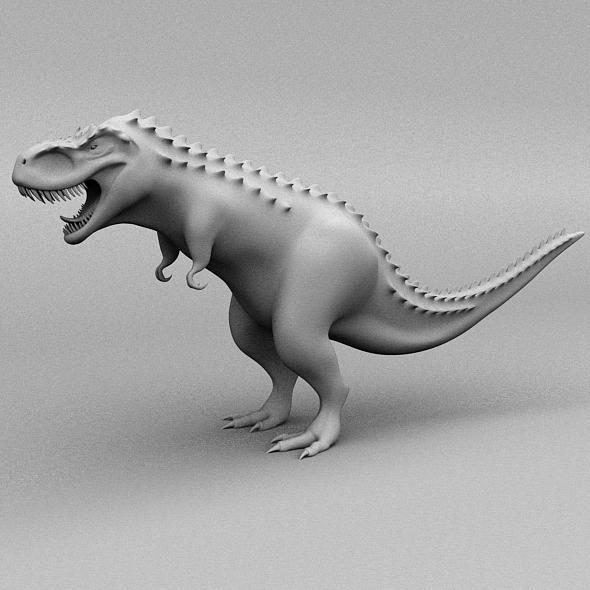 Tyrannosaurus Rex - 3DOcean Item for Sale