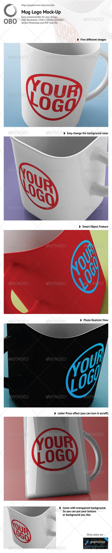 Mug Logo Mock-up - Logo Product Mock-Ups