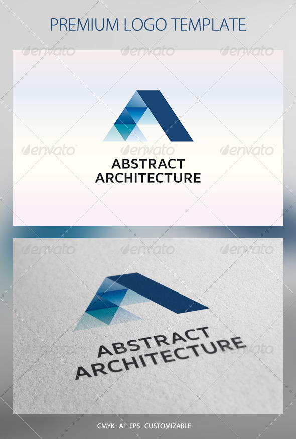 GraphicRiver Abstract Architecture Logo Template 2637715