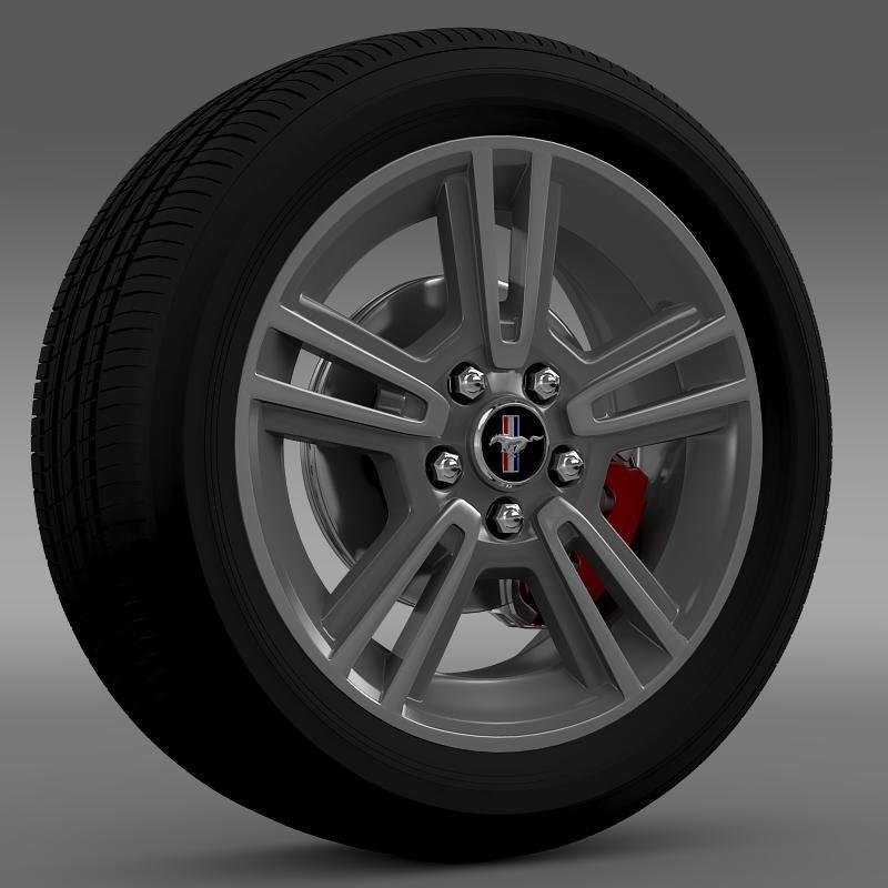 3DOcean Ford Mustang 2013 wheel 2637886