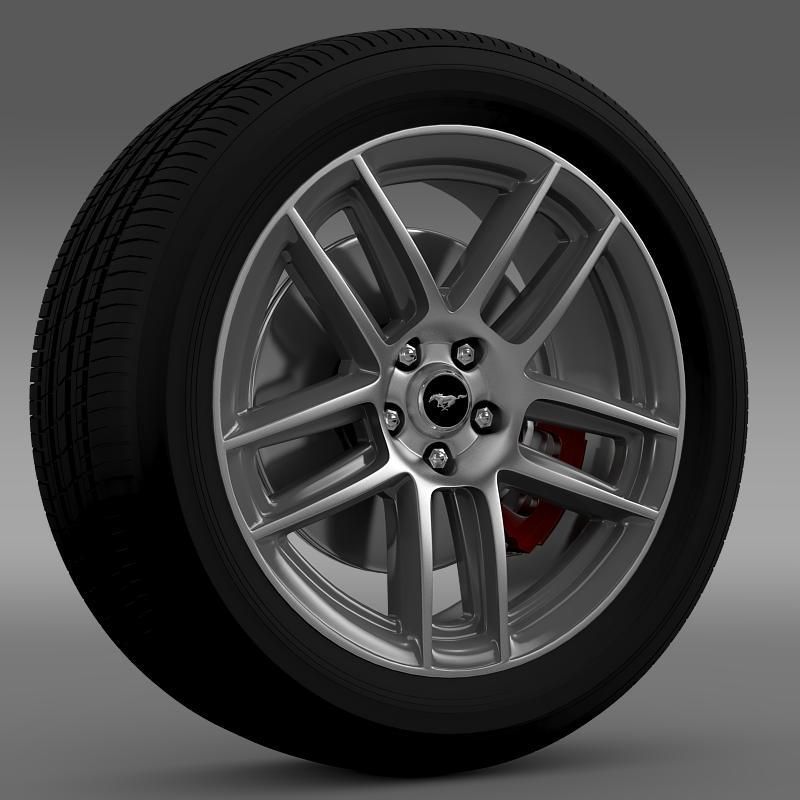 Ford Mustang Boss 302 2013 wheel - 3DOcean Item for Sale