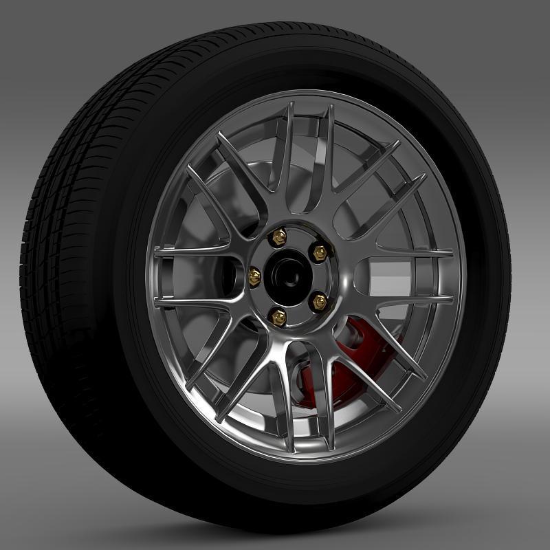 3DOcean Ford Mustang Boss 302R 2011 wheel 2638554