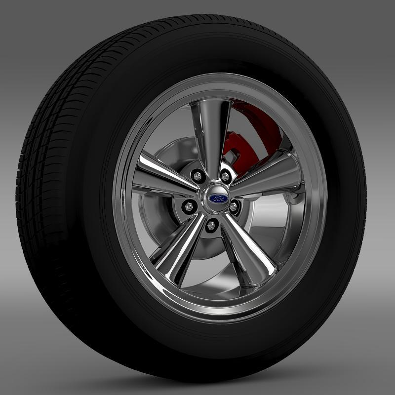 3DOcean Ford Mustang GT 2006 wheel 2638584