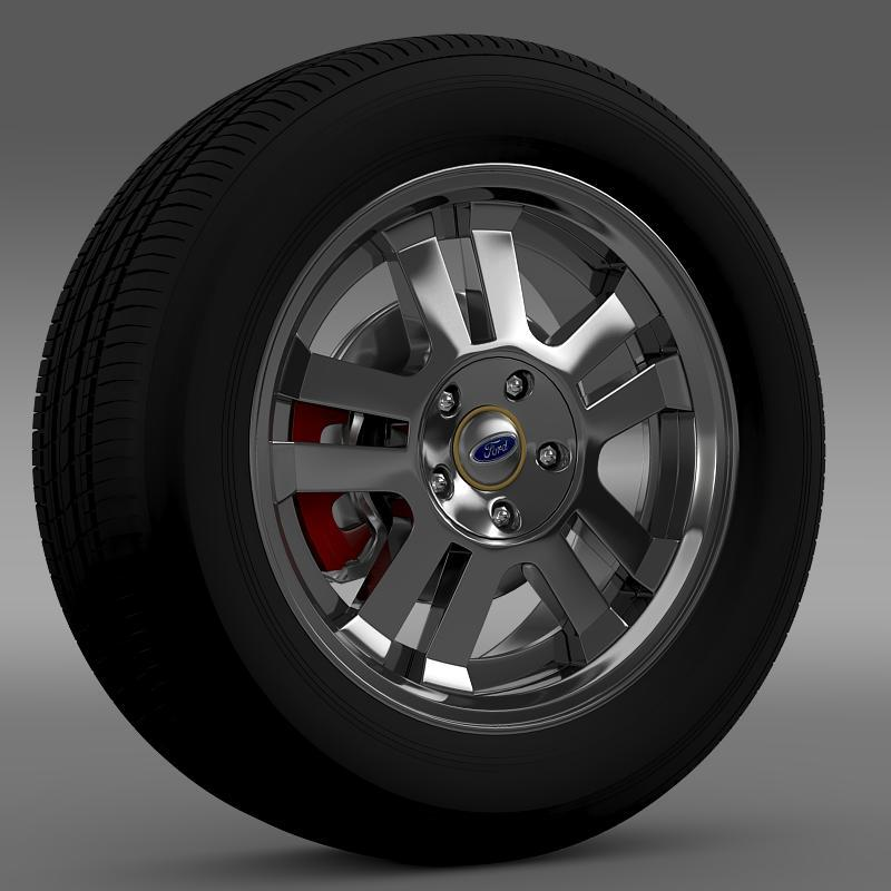 Ford_Mustang GT 2005 wheel - 3DOcean Item for Sale