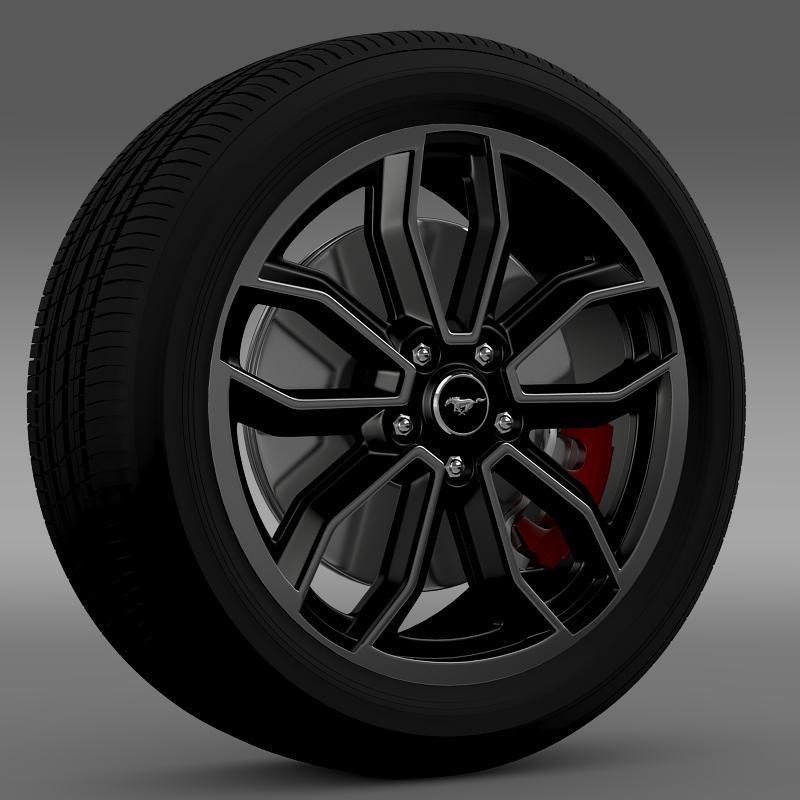 Ford Mustang GT 2013 wheel