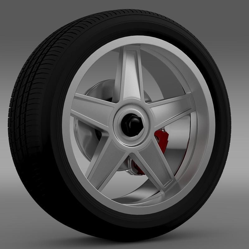 Ford_Mustang GTR 2005 wheel - 3DOcean Item for Sale