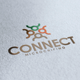 Connect Logo - GraphicRiver Item for Sale