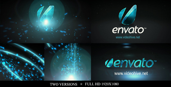 After Effects Project - VideoHive Particle Rays Logo Reveal 2639592