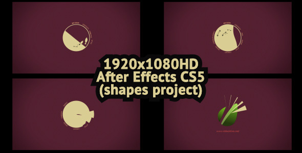 After Effects Project - VideoHive Shapes Logo 2 2639599