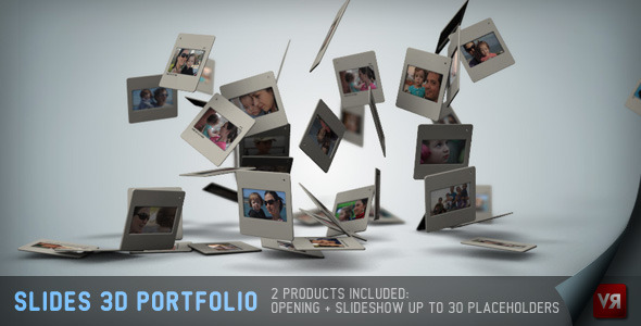 After Effects Project - VideoHive Slides 3D Portfolio And Opening 2639624