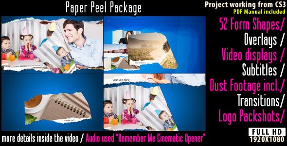 VideoHive Paper Peel Package 2639675
