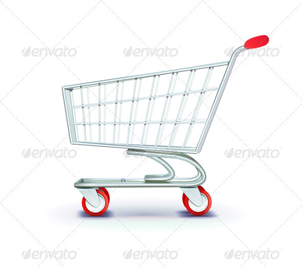 GraphicRiver Supermarket Shopping Cart 2640166