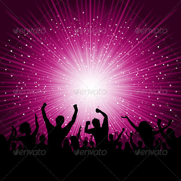 Party People Background | GraphicRiver
