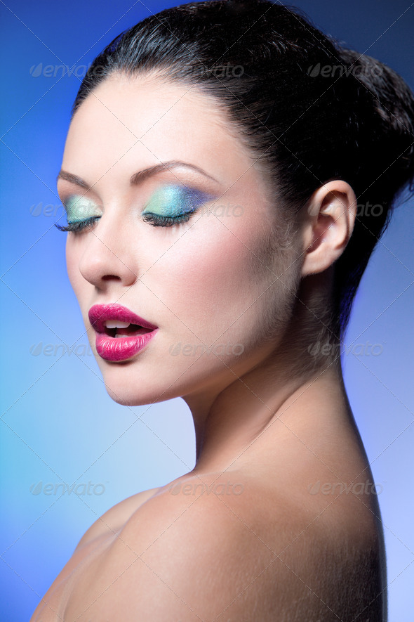 beauty closeup - Stock Photo - Images