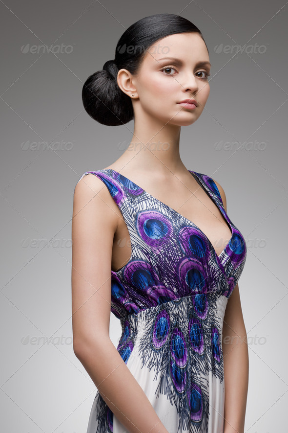 young classy brunette - Stock Photo - Images