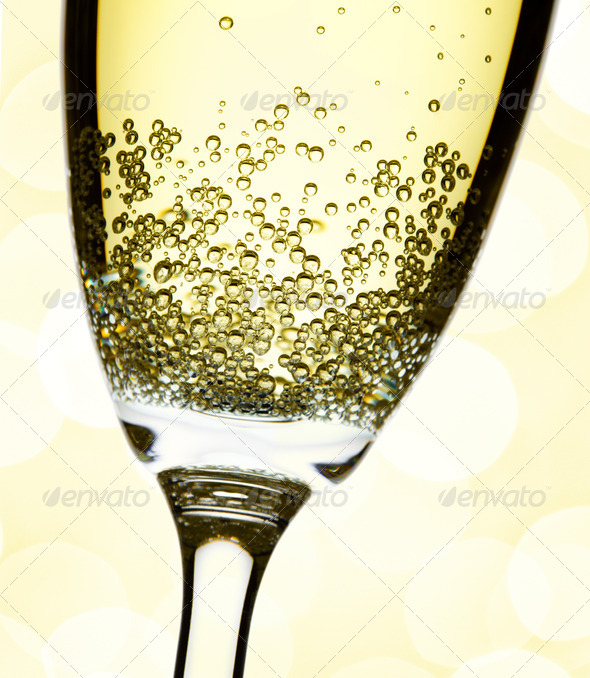 champage close-up - Stock Photo - Images