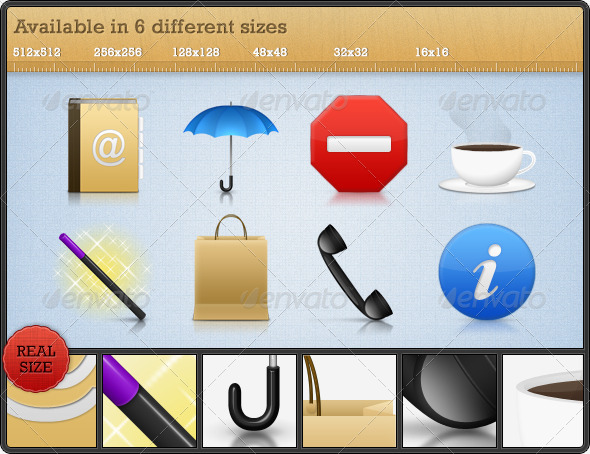 High Quality Premium Icons Set 4