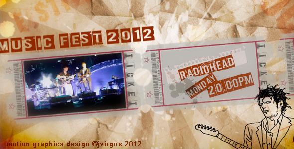 VideoHive Music Festival Promo Billboard 2640829